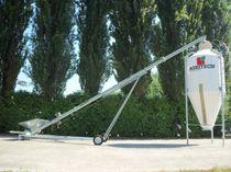 Grain conveyor / screw / mobile / tubular