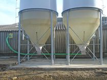 Grain conveyor / screw / tubular / flexible