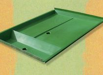 Drum collection tray / fiberglass