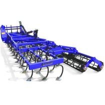 Trailed field cultivator / with roller / 3-point hitch / soil loosening