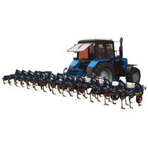 Mounted field cultivator / spring tine / soil loosening