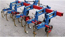 Mounted row crop cultivator / weeding / disc