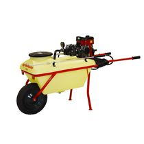 Orchard sprayer / pushed / pneumatic