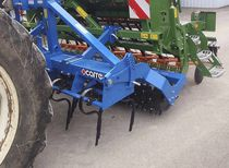 Mounted field cultivator / 3-point hitch / spring tine / fixed