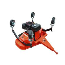 Landscaping grooming mower / mounted / for ATV