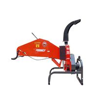 PTO-driven wood chipper / mounted