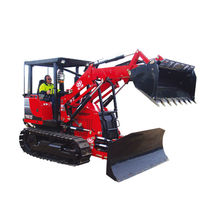 Specialty tractor / mechanical transmission / with ROPS / 3-point hitch