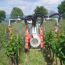 Viticulture sprayer / mounted / folding arms