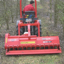 Rear-mount mulcher / flail / PTO-driven