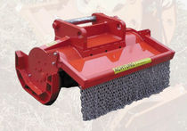 Mounted mulcher / hydraulic