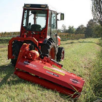 Mounted mulcher / flail / PTO-driven / folding
