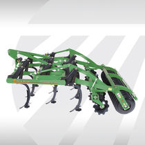 Mounted field cultivator / 3-point hitch / with roller / soil loosening