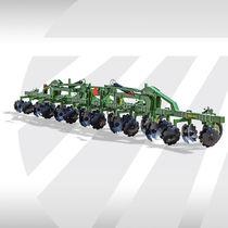 Row crop ridger