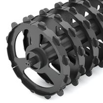 Packer preseeding roller / ring