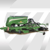 Pneumatic seed drill / trailed / cultivator-mounted / disc