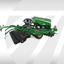 Mechanical seed drill / trailed / cultivator-mounted / disc