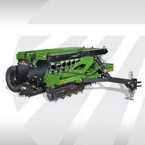 Mechanical seed drill / trailed / compact