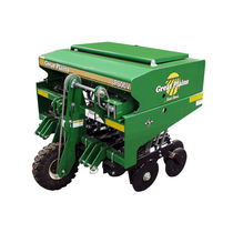 Mechanical seed drill / tractor-mounted / 3-point hitch / compact