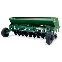 Mechanical seed drill / 3-point hitch / tractor-mounted / no-till
