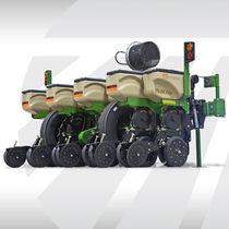 Air planter / 4-row / compact / twin-row