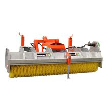 Tractor-mounted sweeper / groundcare