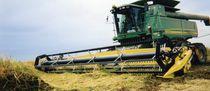 Rice harvesting header / rigid