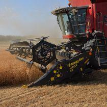 Draper harvesting header / cereal / soybean / pea