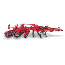Trailed stubble cultivator / with roller / shallow / with harrow