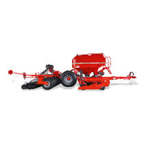 Pneumatic seed drill / trailed / disc