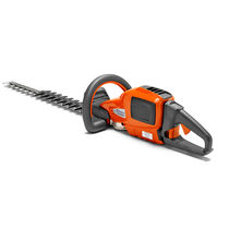 Cordless hedge trimmer / hand-held / lightweight