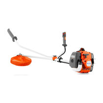 Gasoline brush cutter / portable