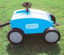 Irrigation cart with wheels