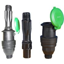 Irrigation valve / control / plastic / for quick coupling