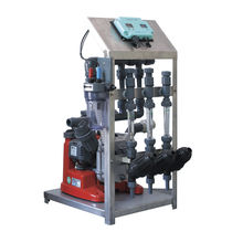 Automatic fertilizer injection system