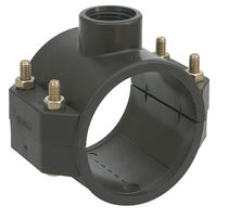 Irrigation fitting / PVC / compression