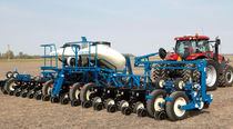 Trailed precision seed drill / disc / folding / narrow row