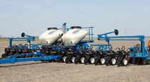 16-row precision seed drill / trailed / folding / twin-row
