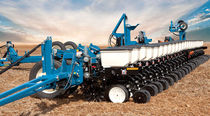 24-row precision seed drill / trailed / 3-point hitch