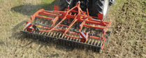 Mounted stubble cultivator / shallow / folding