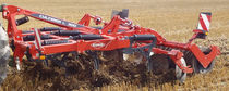 Mounted stubble cultivator / with roller / 3-point hitch / with disk harrow