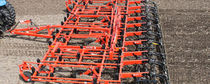 Trailed field cultivator / rigid tine / folding