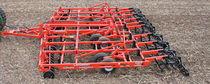 Trailed field cultivator / with roller / rigid tine / with disk harrow