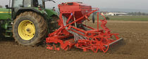 Mounted field cultivator / 3-point hitch / spring tine / for seed drills