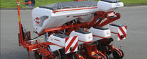 Tractor-mounted precision seed drill / with fertilizer applicator / 3-point hitch