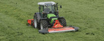 Front-mount mower / drum / PTO-driven