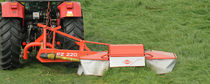 Mounted mower / drum / PTO-driven / folding