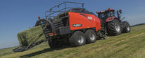 Square baler / high-density / silage / large
