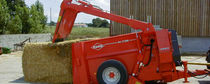 Trailed straw blower / for square bales / PTO-driven