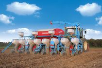 4-row precision seed drill / double-disc / direct / tractor-mounted