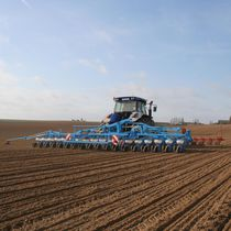 24-row precision seed drill / 6-row / 3-point hitch / rigid